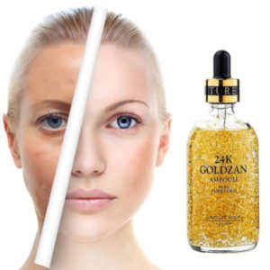 24k goldzan ampoule serum