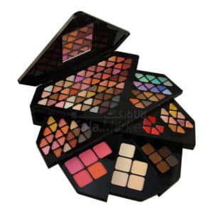 MAYCREATE diamond shape professional 130 colors makeup shimmer and matte eyeshadow blusher
