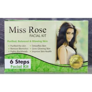 Miss rose whitening facial kit