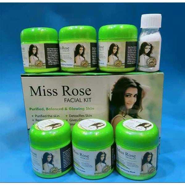 Miss rose whitening facial kit