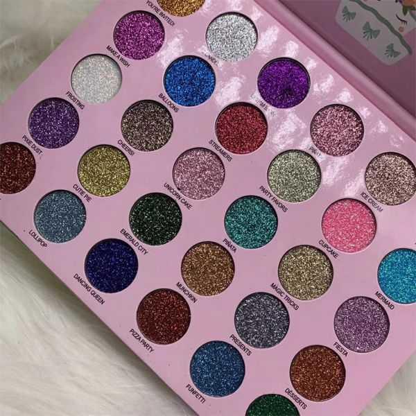 Unicorn Waterproof 30 Color Glitter Eyeshadow Palette