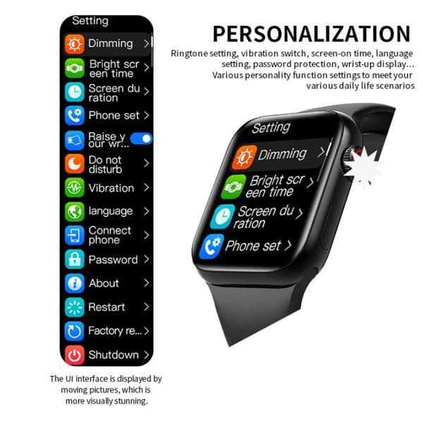 hw12 40mm smartwatch series 6