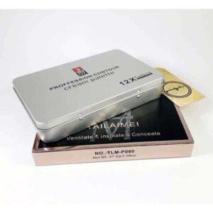 Tailaimei 12 Colors Professional Contour Cream Palette, TLM-P060
