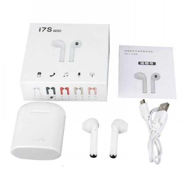 I7s tws earbuds true wireless bluetooth double earphones