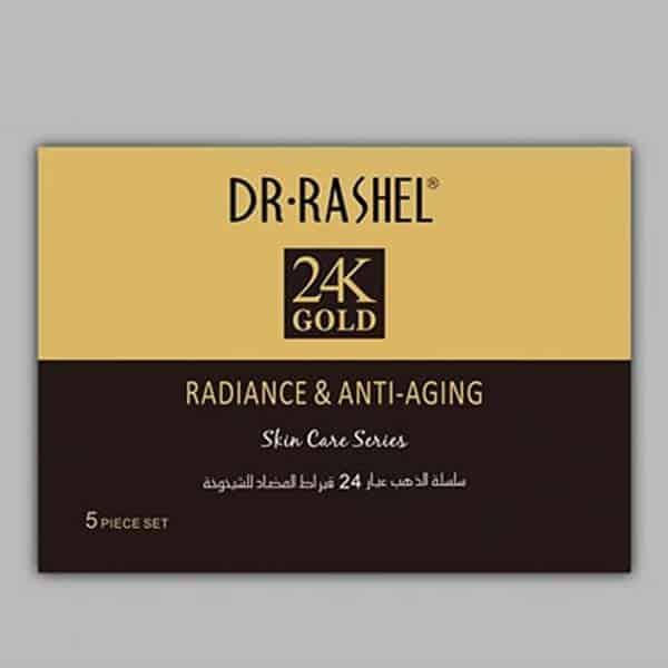 Dr rashel 24k gold radiance anti aging series 5 piece set