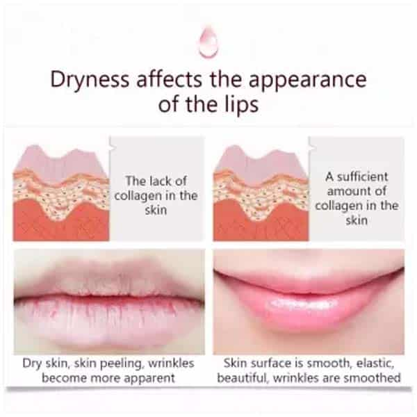 Bioaqua lip care keep lip lasting moisture replenishment lip sleeping mask