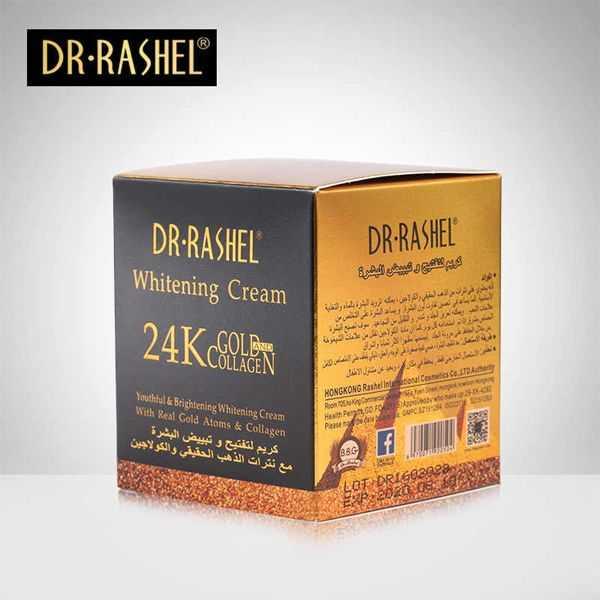 Dr Rashel whitening cream 24k gold collagen