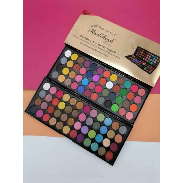 Final touch matte shimmer 96 color big eyeshadow palette
