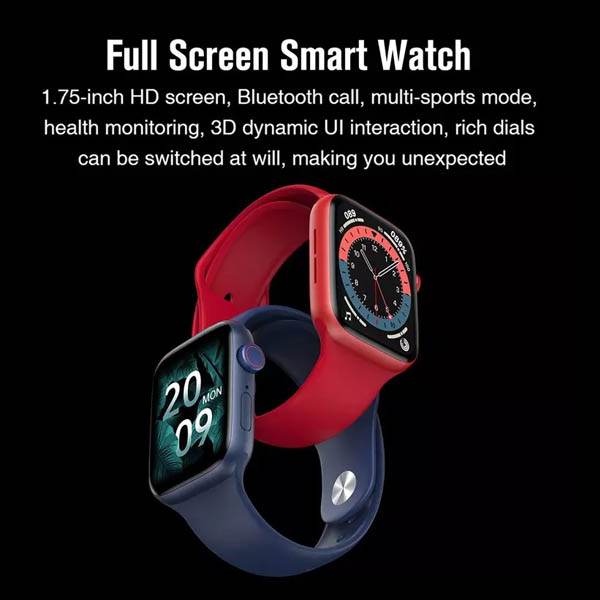 HW22 bluetooth smart watch for android and ios