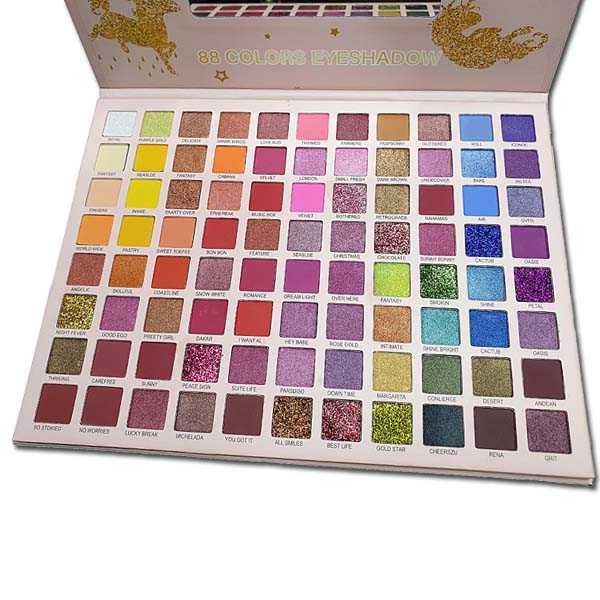 Huda baby 88 colors eyeshadow palette