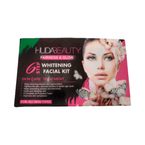 Huda beauty facial kit pack of 6 fairness glow