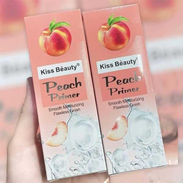 Kiss beauty peach makeup primer