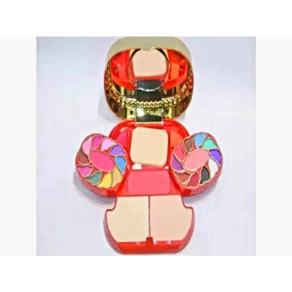 Kiss touch makeup kit two way cake with eye shadow blusher and lipstick