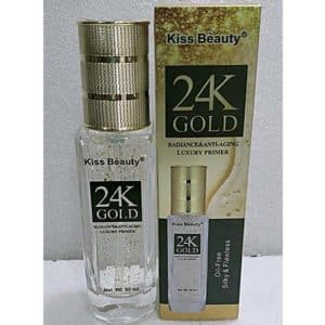 Kiss beauty 24k gold radiance anti aging luxury primer 50ml