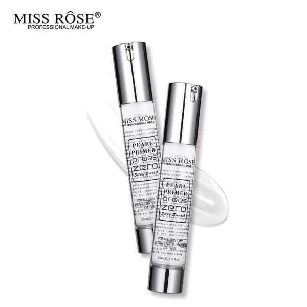 Miss rose pearl primer pores zero primer