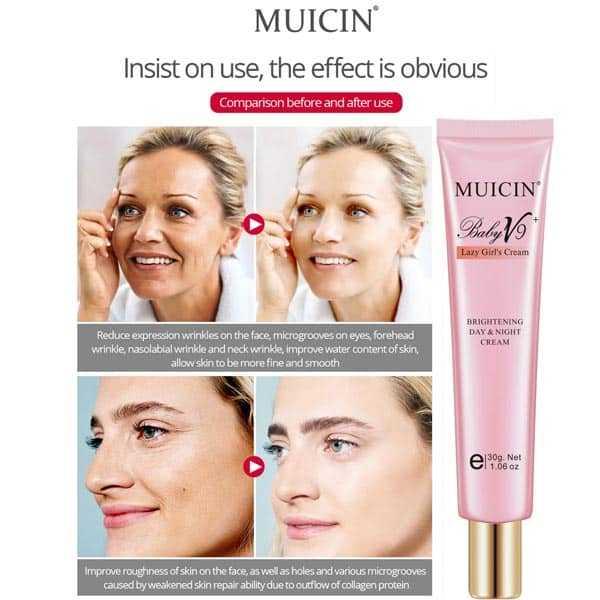 Muicin - v9 lazy girl day-night cream