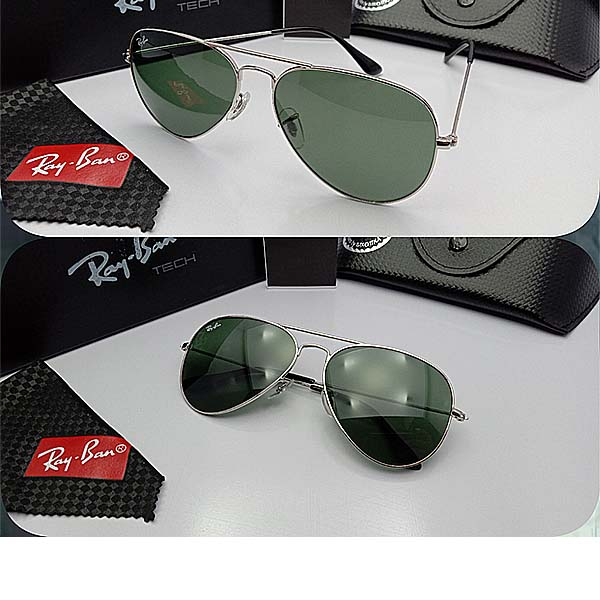 Ray-ban aviator classic 3025 glasses size 58