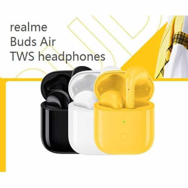 Realme buds air wireless earbuds multitouch function