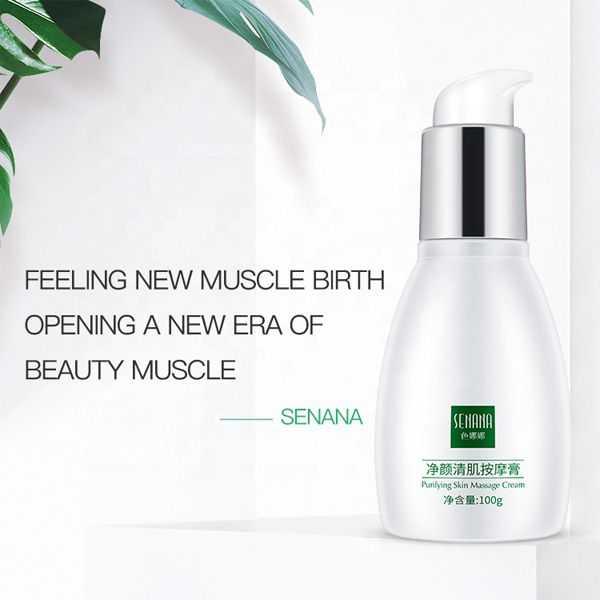 Senana purifying skin massage cream deep cleansing