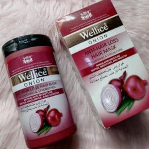 Wellice onion anti hair loss hair mask 1kg
