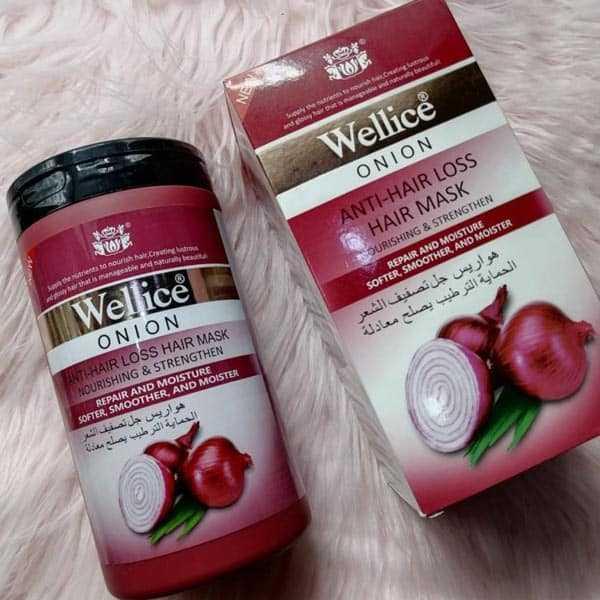 Wellice onion anti hair loss hair mask 1kg
