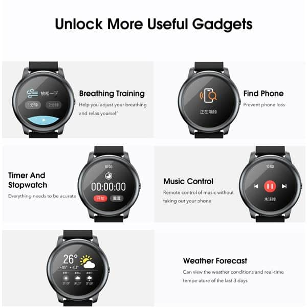 Xiaomi haylou ls05 smart watch for android ios