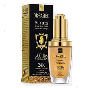 Dr rashel 24k gold collagen facial serum essence moisturizing anti aging serum