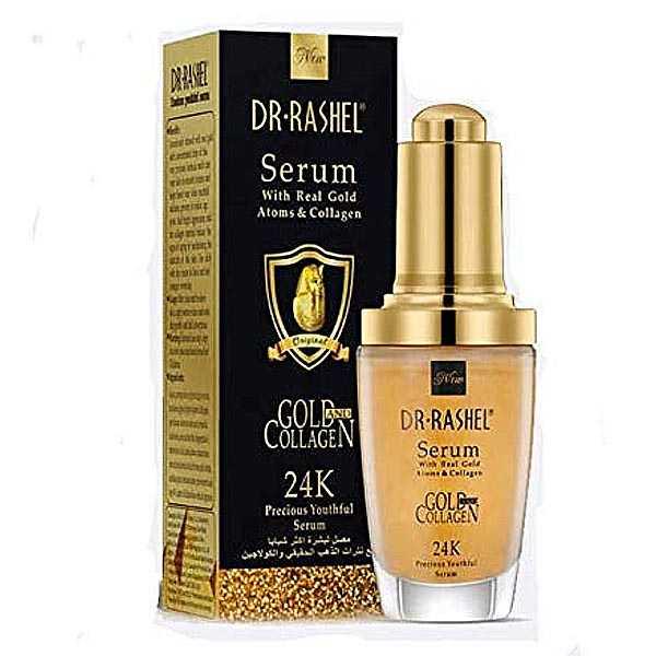 Dr rashel 24k gold collagen facial serum essence moisturizing anti aging serum