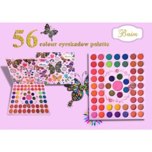 Baim 56 colors eyeshadow palette
