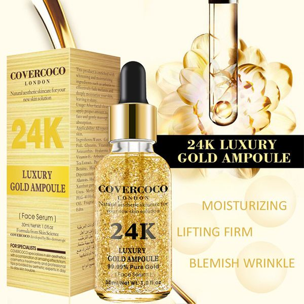 Covercoco london moisturizing face essential oil makeup foundation base primer