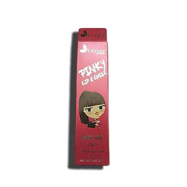 Cutish pinky magic lip tint and cheek stain cream
