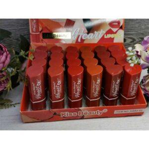 Kiss beauty heart lipstick pack of 6