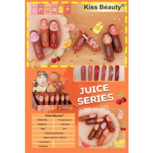 Kiss beauty juice series lipgloss pack of 6