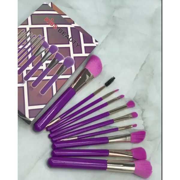Kiss beauty 10 pieces brush set