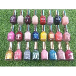 Miss rose professional makeup matte permanent long lasting nail polish pack of 24