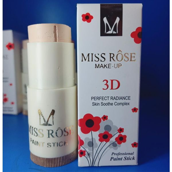 Miss rose professional makeup paint foundation stick pack of 4