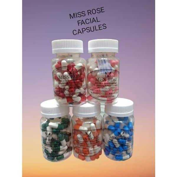 Miss rose skin whitening capsules 60 pcs