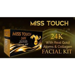 Miss touch 24k gold facial kit