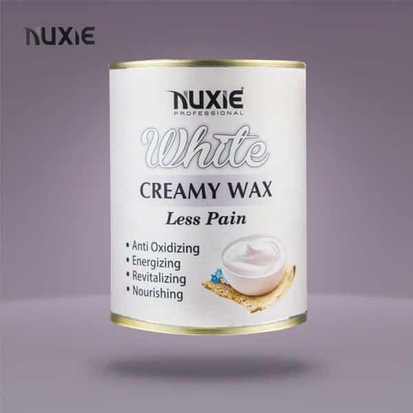 Nuxie white creamy wax less pain 1kg