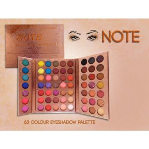 Note 63 colors shimmer matte long lasting eye shadow palette