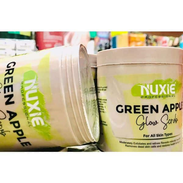 Nuxie professional green apple scrub
