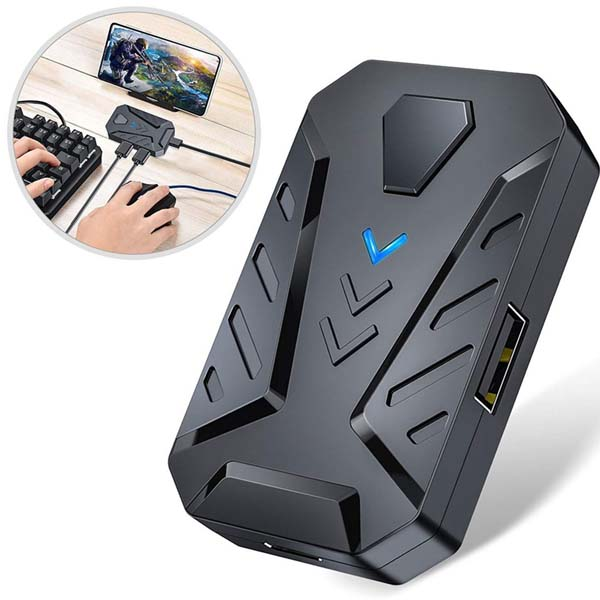 Pubg Cod Free Fire gaming kit with keyboard gaming mouse and mix pro converter