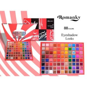 Romanky professional makeup eyeshadow 88 color