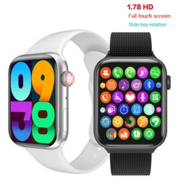 W16 smart watch series 6 1.75 inch full touch screen fitness watch
