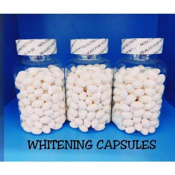 Whitening capsules jar 60pcs