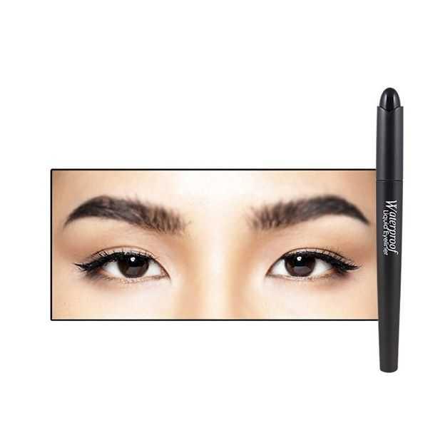 Yanqina new professional eye liner waterproof makeup 12pcs
