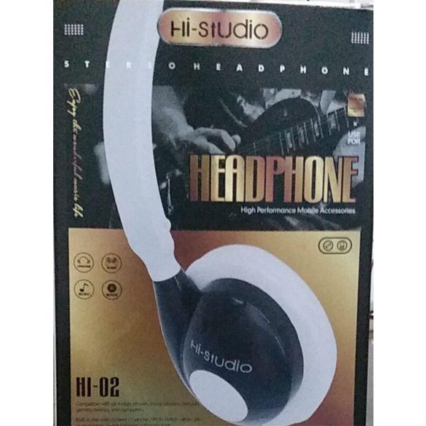 Hi studio stereo headphone h1-02