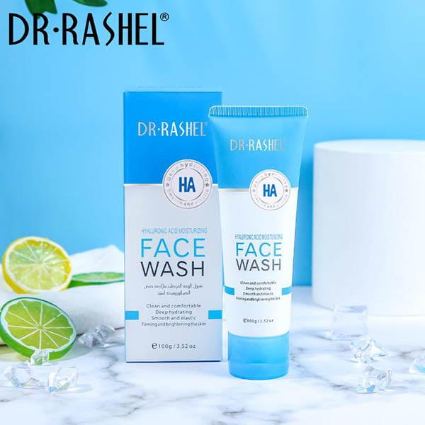 Dr rashel hyaluronic acid moisturizing and smooth face wash